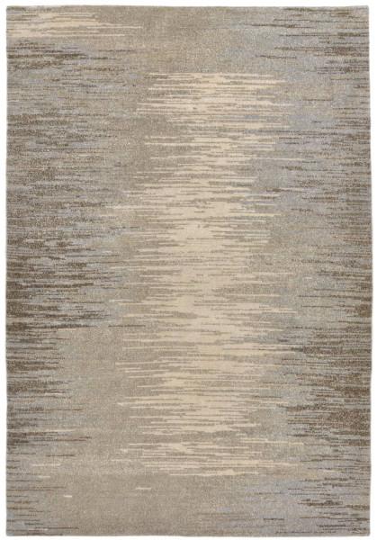 Handgeknüpfter Designerteppich Wolle/Nessel - FINE NATURE - 161 x 236 cm