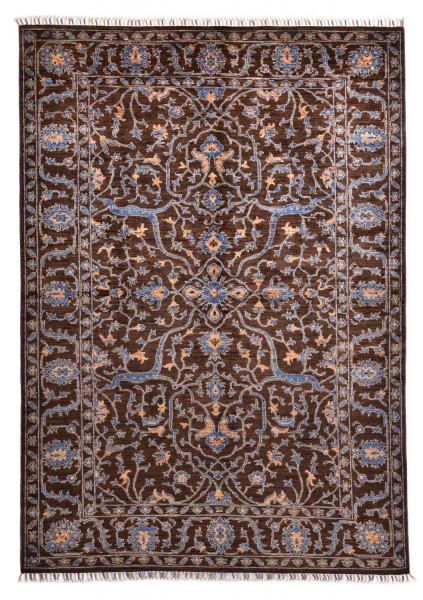 Handgeknüpfter Shawl Teppich aus Ghazni Wolle - Pir Mahal - 147x245cm