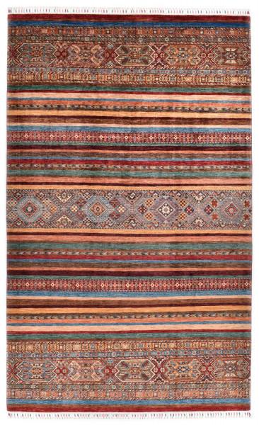 Handgeknüpfter Shawl Teppich aus Ghazni Wolle - Pir Mahal - 206 x 332 cm