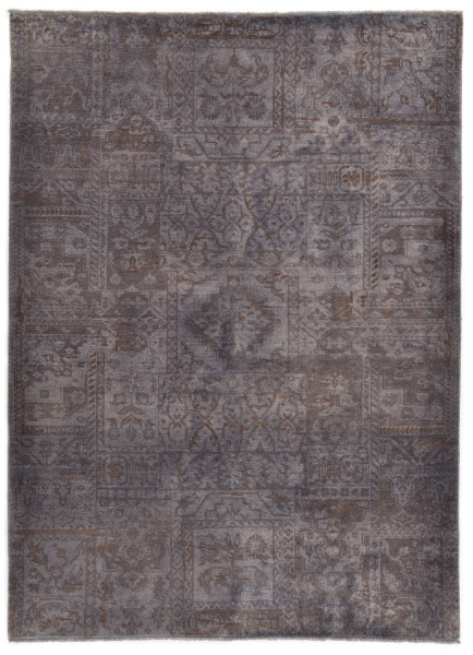 Handgeknüpfter Wollteppich - Vintage Patch - JK-17 - 178x244cm