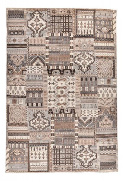 Handgeknüpfter Wollteppich - Vintage Patch P507 - 170x242cm