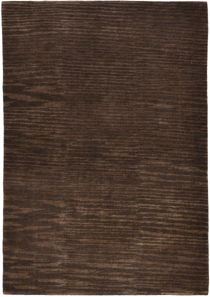 Plain Silk Abrash Rug Star