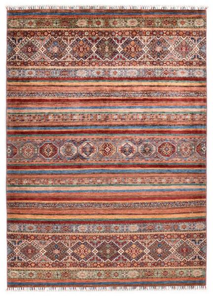 Handgeknüpfter Shawl Teppich aus Ghazni Wolle - Pir Mahal - 172 x 253 cm