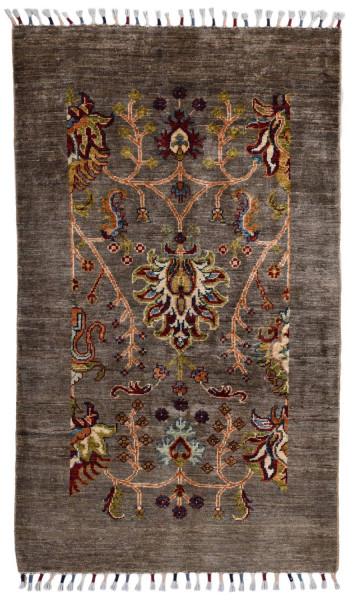 Handgeknüpfter Shawl Teppich aus Ghazni Wolle - Pir Mahal- 82 x 134 cm