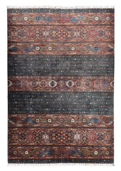 Handgeknüpfter Shawl Teppich aus Ghazni Wolle - Pir Mahal - 201x296cm